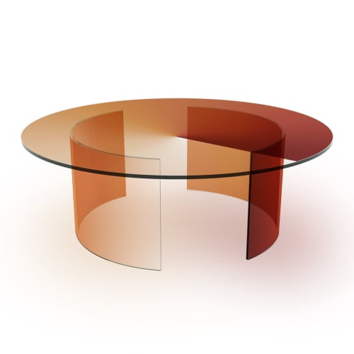 Rive Roshan Colour Dial Table, Red Light, 2020