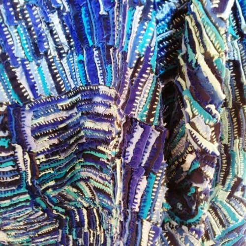 Georgina Maxim I Mai Mugari II (Detail) I 2018 I Fabric and wool I 110 x 90cm
