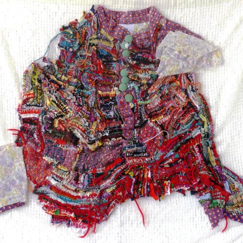 Georgina Maxim I Ma Mére II I 2018 I Mixed media textile I 82 x 77 x 4 cm