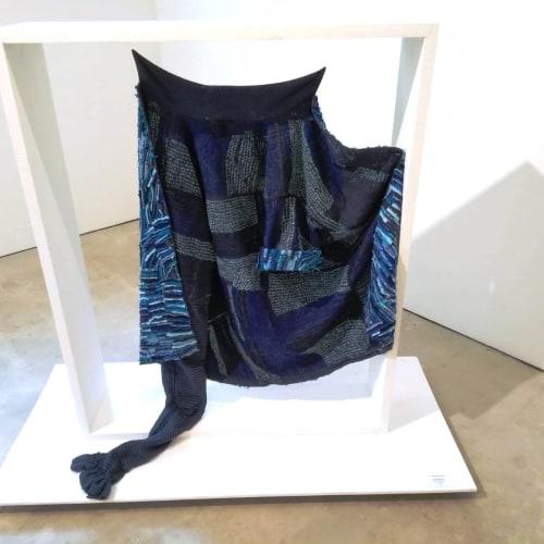 Georgina Maxim I Mai Mugari II I 2018 I Fabric and wool I 110 x 90cm