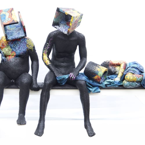 Péju Alatise I The Unconscious Struggle I 2012 I Courtesy of the African arts museum of the Smithsonian Institute