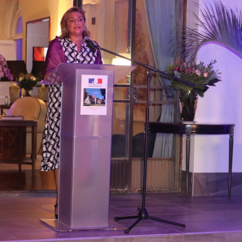 Mexican Ambassador Ana Luisa Fajer