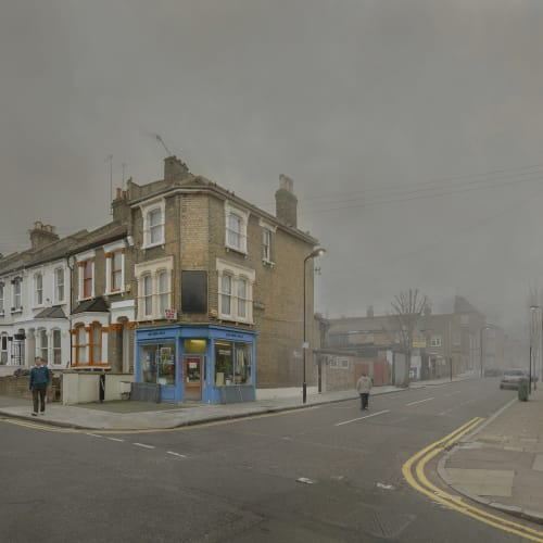 Chris Dorley-Brown, Chelmer Road & Glyn Road 3rd March 2009 12:47pm - 13:18pm, 2009, from the series 'The Corners' (2009-2017)