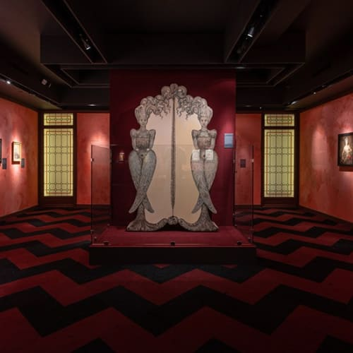 VIP preview tour of Leonor Fini: Theater of Desire at the Museum of Sex, New York City.