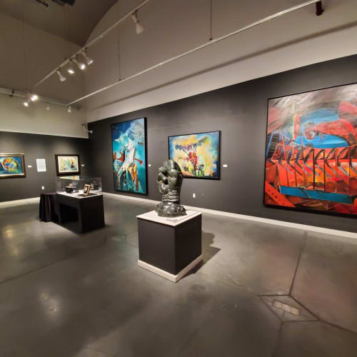 Curator tour of The Surrealist Revolution in America at the Napa Valley Museum, Younteville.