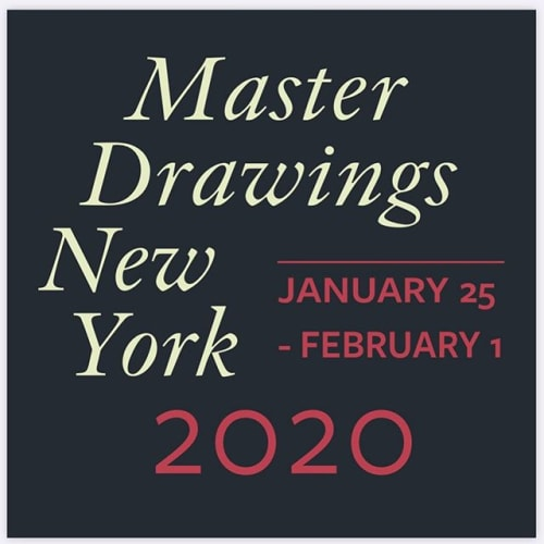 Image may contain: possible text that says 'Master Drawings New York 2020 JANUARY 25 -FEBRUARY 1'
