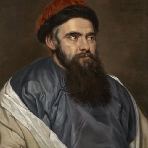 Michaelina Wautier (c.1617 - 1689), Martino Martini (1614 – 1661), an Italian Jesuit missionary in China , 1654
