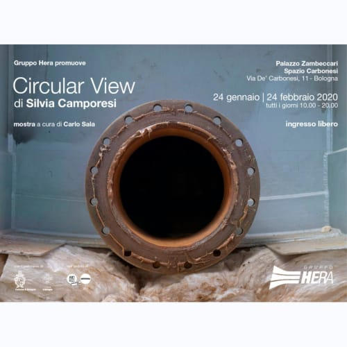 Circular View Silvia Camporesi 24 January - 24 February Palazzo Zambeccari, Spazio Carbonesi in via De 'Carbonesi, 11- Bologna Free admission.