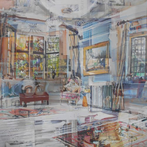 Alison Pullen 'Cambridge Interior'