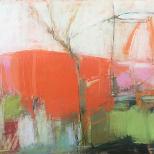 Jeannette Hayes - Orange Hill (Hungerford Gallery)