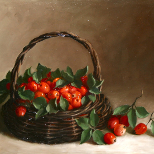 Susie Philipps - Crab Apples in a Basket