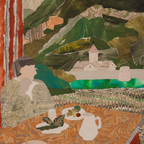 Dione Verulam - Lunch at Tatev, Armenia (London Gallery)