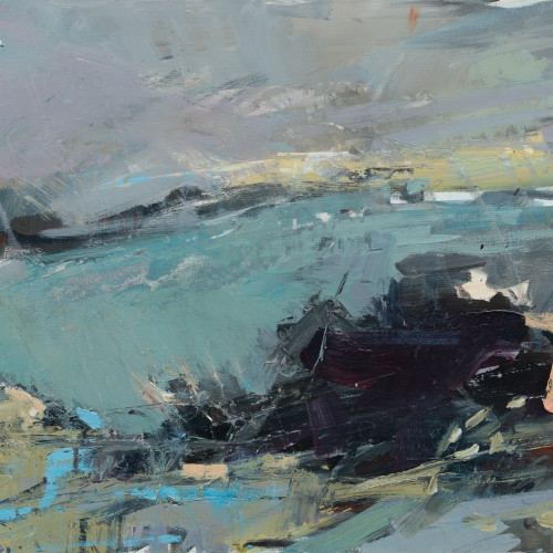 Paul Wadsworth - Cold Sea Green (London Gallery)