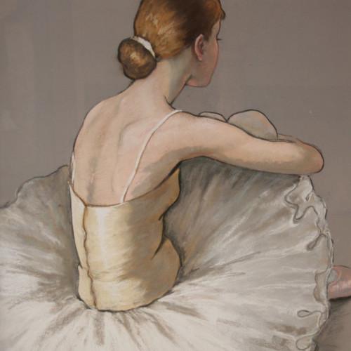 Katya Gridneva - Resting Ballerina