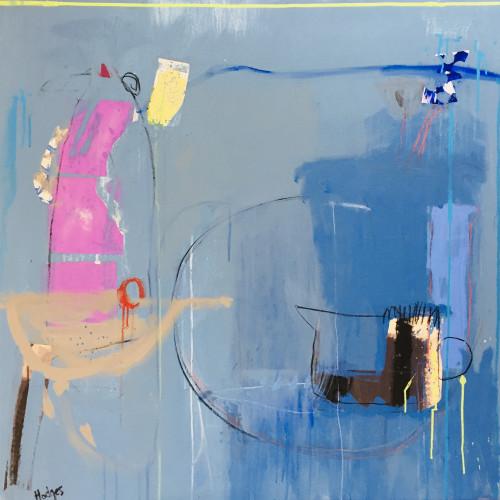 Felice Hodges - Blue for Nettie, 2018