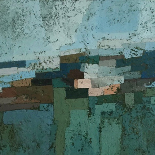 Miles Cole - Llanrhidian Winter (London Gallery)