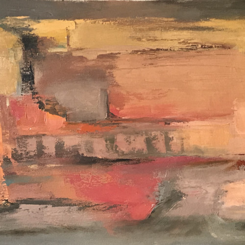 Val Pitchford - Rose Dawn II (Hungerford Gallery)
