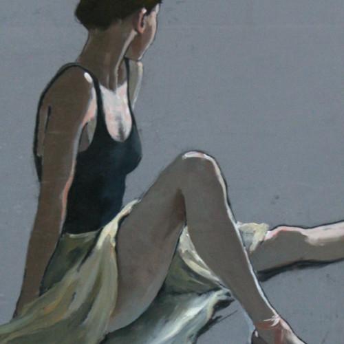 Katya Gridneva - Rehearsal Break (Hungerford Gallery)
