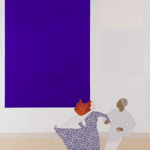 Dione Verulam - Klein inspires Dancing (London Gallery)