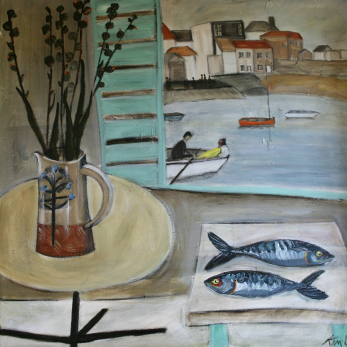 Kim Langford - Romance in St Ives (London Gallery)