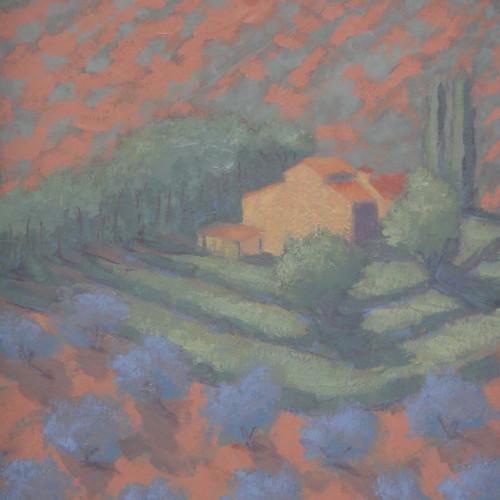Hermione Owen - Italian Farmhouse (Hungerford Gallery)