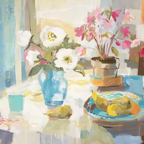 Kate Rhodes - Peonies and Pears (London Gallery)