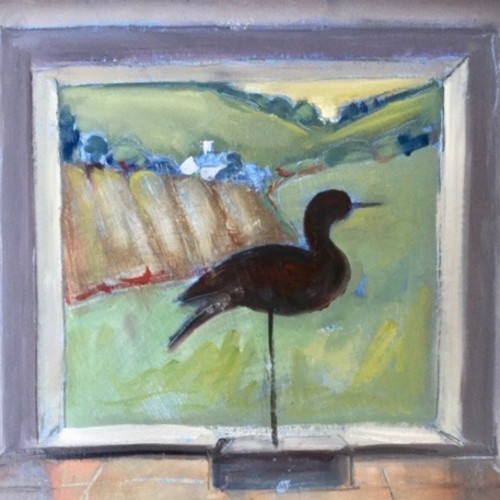 Annie Field - Curlew (Hungerford Gallery)