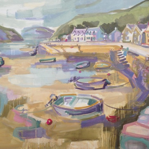 Kate Rhodes - The Harbour, Old Fishguard
