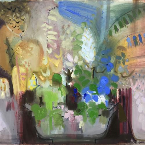 Annabel Fairfax - Blue Tulip (London Gallery)