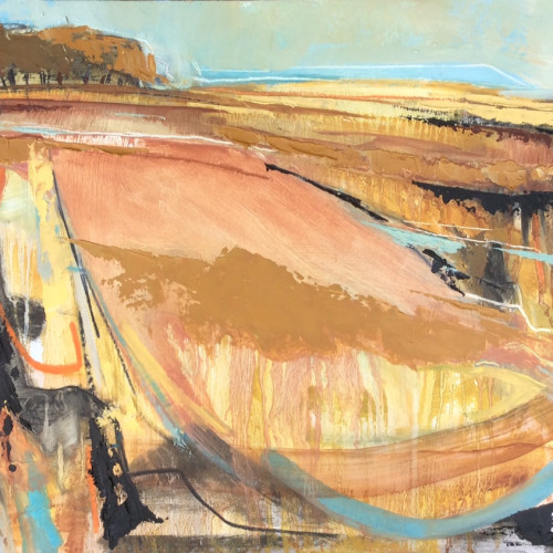 Emma Haggas - Autumn Trees (Hungerford Gallery)
