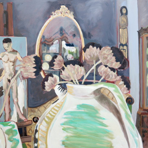 Lottie Cole - Charleston Studio - Ewer, Easel & Mirror