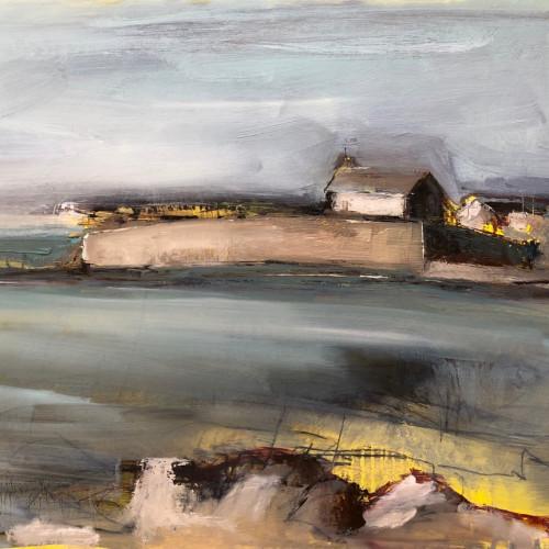 Jo Vollers - St Cwyfan's Island Church (London Gallery)