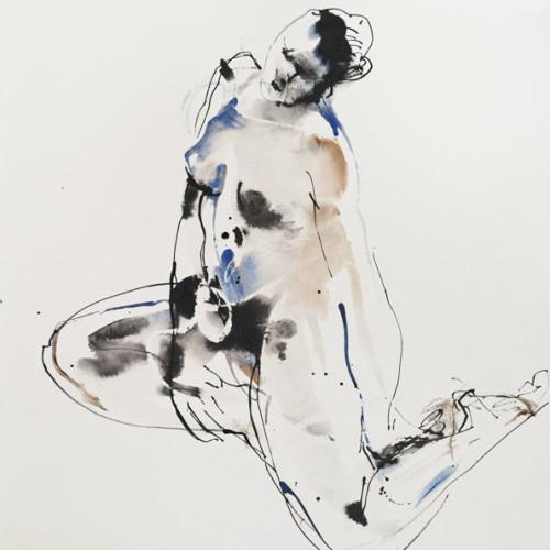 Bella Pieroni - Woman Stretching (Hungerford)