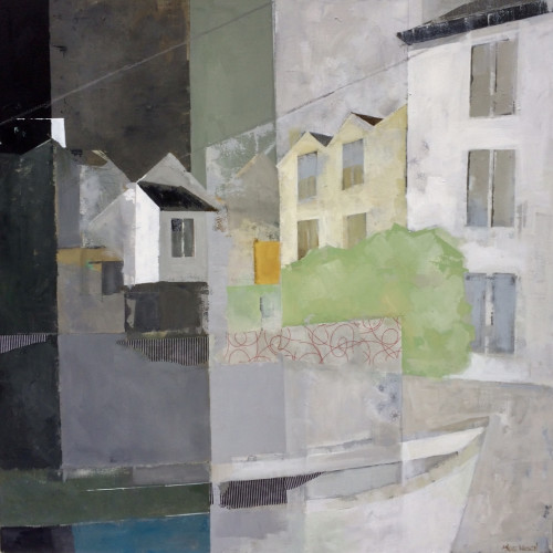 Angela Wilson - Cornish Home Mooring (Hungerford Gallery)