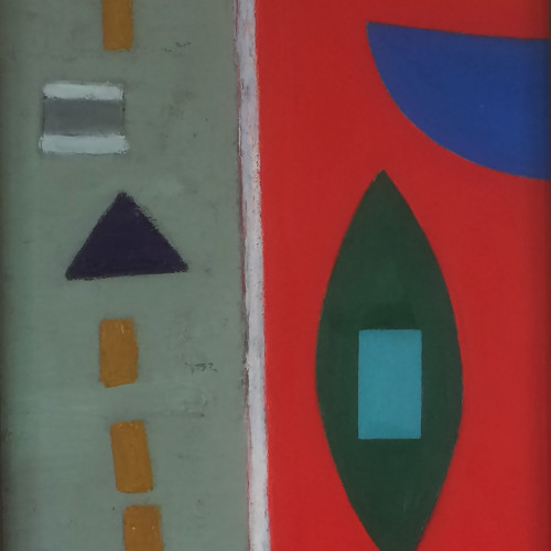 Colin Williams - Quayscape I (Hungerford Gallery)