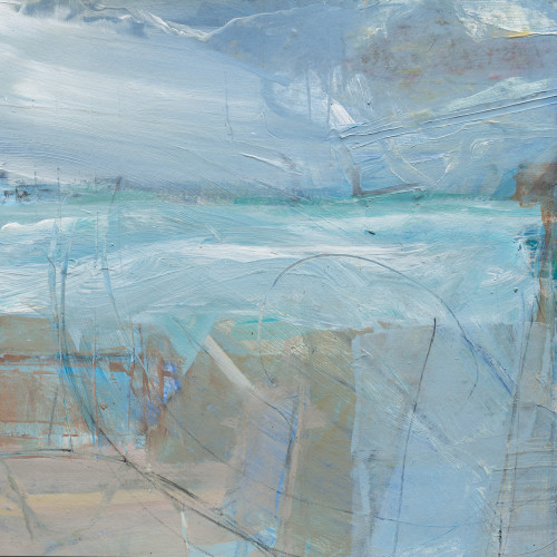 David Mankin - Back to the Sea and Home (Study) (Hungerford Gallery)
