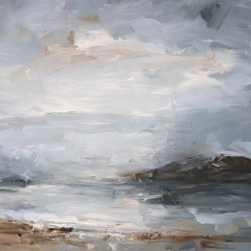Louise Balaam - Pale Grey Sky (Towards Cona) (London Gallery)