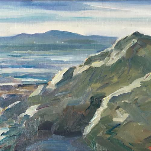 Antony Bream - Towards Camden on North Haven Island, Maine