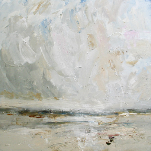 Louise Balaam - Sweeping Sky, Tide Going Out (Hungerford Gallery)