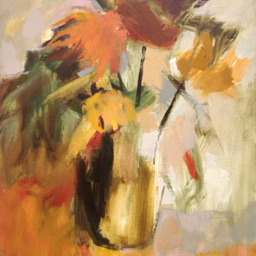 Margaret Devitt - Chrysanthemums (Hungerford Gallery)