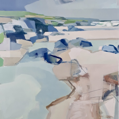 Myles Oxenford - Constantine Bay from Boobys (London Gallery)