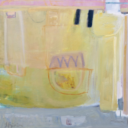 Shirin Tabeshfar Houston - Sand Castle (London Gallery)
