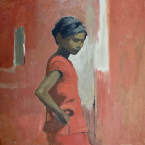 Clare Granger - Girl in Red (Hungerford Gallery)