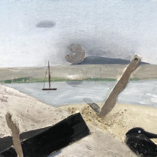 Keith Purser - Crow Island Figures (London Gallery)