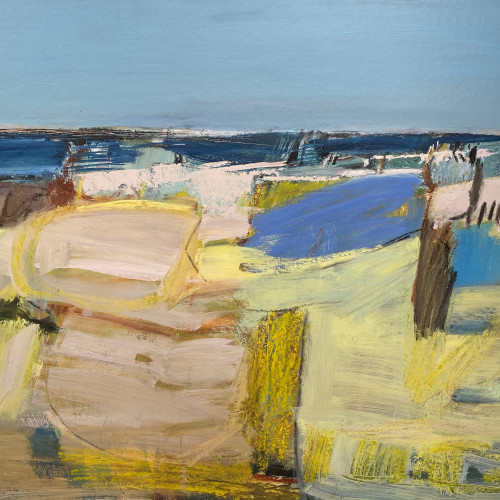 Dafila Scott - Through the Dunes to the Sea (Hungerford Gallery)