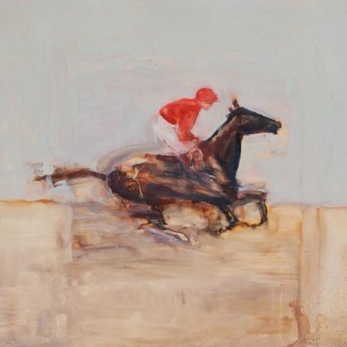 Antoine de La Boulaye - Jockey III (Hungerford Gallery)