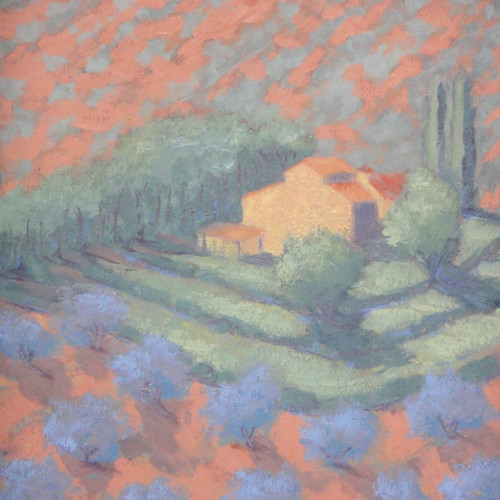 Hermione Owen - Italian Farmhouse (Hungerford Gallery)