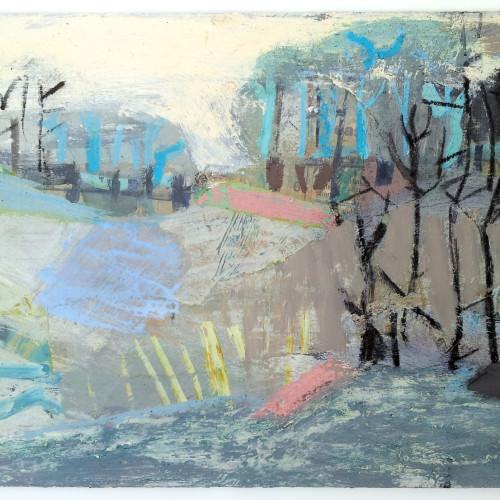 Liz Hough - River Walk (Hungerford Gallery)