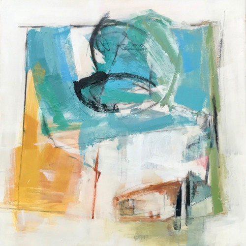 Kathy Montgomery - A Gust of Wind (Hungerford Gallery)