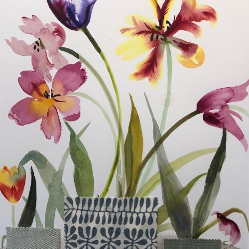 Annabel Fairfax - Mixed Tulips